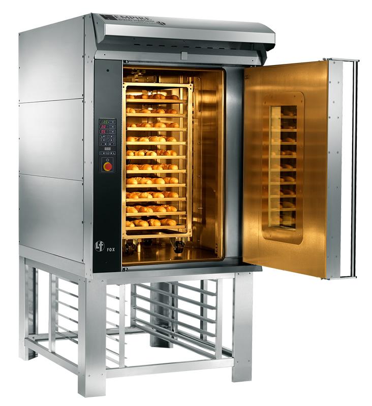 Lfr Fox 10 Rotating Half Rack Oven Empire Foodservice